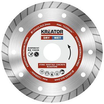 Kreator KRT083101, 125mm - Diamantový kotouč