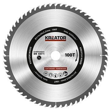 KREATOR KRT020433 - Pilový kotouč