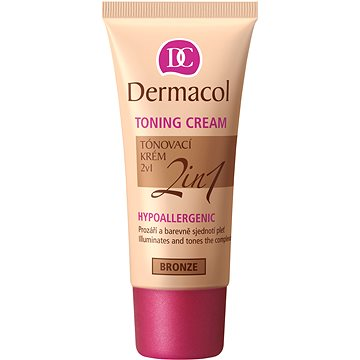 DERMACOL Toning Cream 2in1 Bronze 30 ml - BB krém
