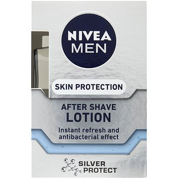 NIVEA Men Silver Protect After Shave Lotion 100 ml - Voda po holení