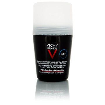 VICHY Homme Deodorant Anti-Transpirant 48H Sensitive Skin 50ml - Pánský deodorant