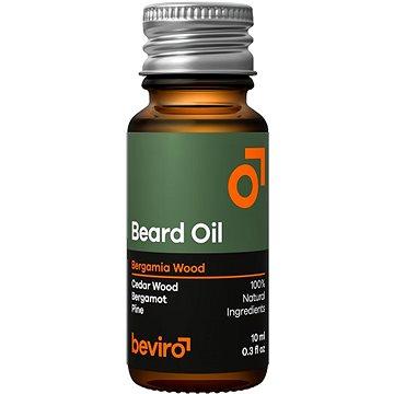 BEVIRO Bergamia Wood Oil 10 ml - Olej na vousy