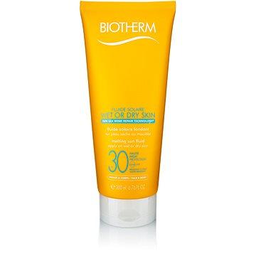 BIOTHERM Fluide Solaire Wet Or Dry Skin SPF30 200 ml - Opalovací mléko