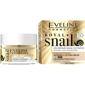 EVELINE COSMETICS Royal Snail Day And Night Cream 50+ 50 ml - Pleťový krém