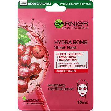 GARNIER Skin Naturals Hydra Bomb Tissue Mask Grape Seed Extract 28 g - Pleťová maska