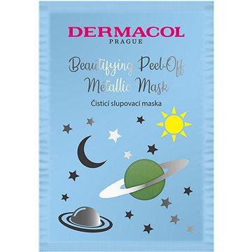 DERMACOL Beautifying Brightening Peel-Off Metallic Mask - Cleaning - Pleťová maska