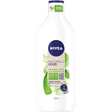 NIVEA Naturally Good tělové mléko Aloe 350 ml - Tělové mléko