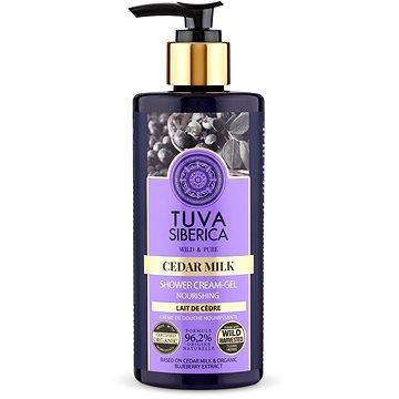 NATURA SIBERICA Tuva Siberica Cedar Milk Nourishing Shower Cream-Gel 300 ml - Sprchový gel