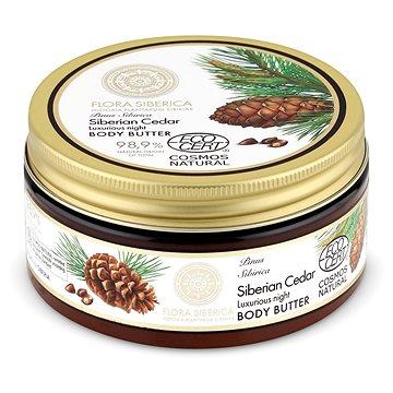 NATURA SIBERICA Flora Siberica Siberian Cedar Luxurious Night Body Butter 300 ml - Tělové máslo
