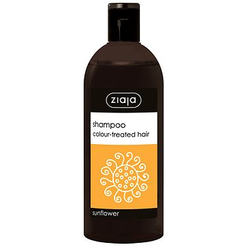 ZIAJA Family Šampon na barvené vlasy - slunečnice 500 ml - Šampon