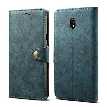 Lenuo Leather pro Xiaomi Redmi 8A, modrá - Pouzdro na mobil