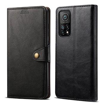 Lenuo Leather pro Xiaomi Mi 10T/10T Pro, černé - Pouzdro na mobil