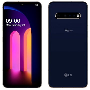 LG V60 ThinQ modrá - Mobilní telefon