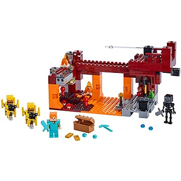 LEGO Minecraft 21154 Most ohniváků - LEGO stavebnice