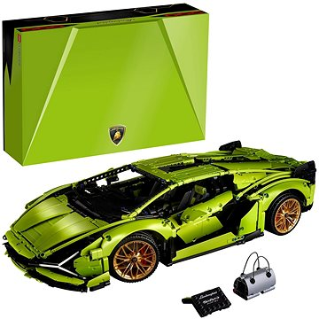 LEGO Technic 42115 Lamborghini Sián FKP 37 - LEGO stavebnice