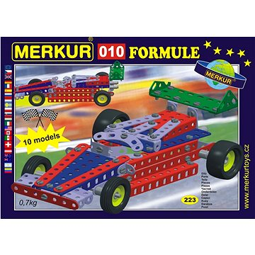Merkur formule 010 - Stavebnice