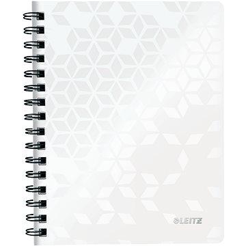 Leitz WOW A5, linkovaný, bílý - Poznámkový blok