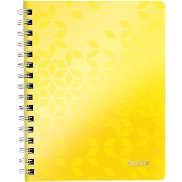 Leitz WOW A5, linkovaný, žlutý - Poznámkový blok