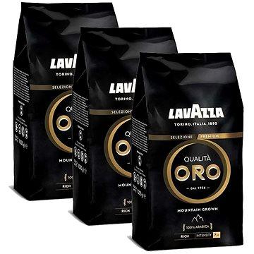 Lavazza Qualita Oro Mountain G, zrnková káva, 1000g; 3x - Káva