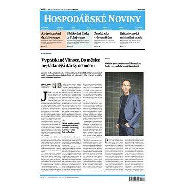 Hospodářské noviny - 25.10.2021 - Elektronické noviny