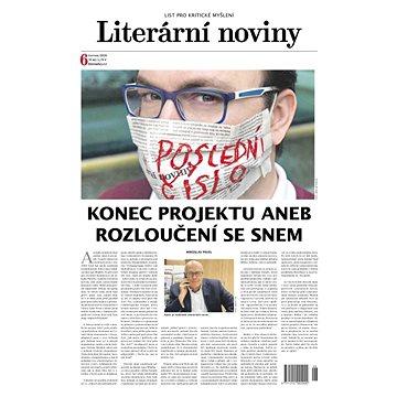 Literární noviny - 6/2020 - Elektronický časopis