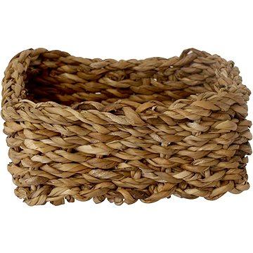 M.A.T. košík hranatý nízký malý 18x18x8cm mořská tráva - Organizér