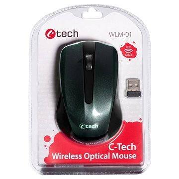C-TECH WLM-01 černá - Myš