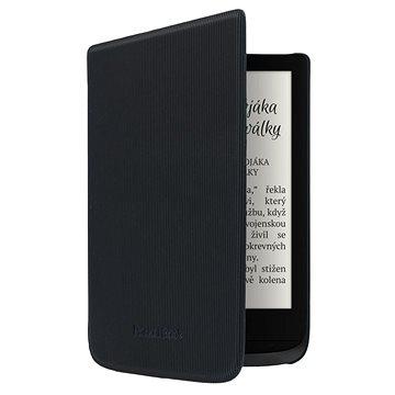 PocketBook HPUC-632-B-S Shell Black Strip černé - Pouzdro na čtečku knih