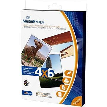 MEDIARANGE 10x15 50 listů, lesklý - Fotopapír