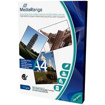 MEDIARANGE A4 50 listů, oboustranně lesklý - Fotopapír