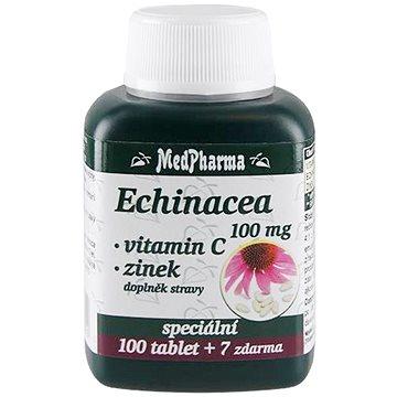 MedPharma Echinacea 100 mg + Vitamin C + Zinek - 107 tbl. - Echinacea