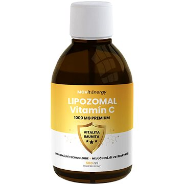 MOVit Lipozomální Vitamín C 1000 mg Premium 500 ml - Vitamín C
