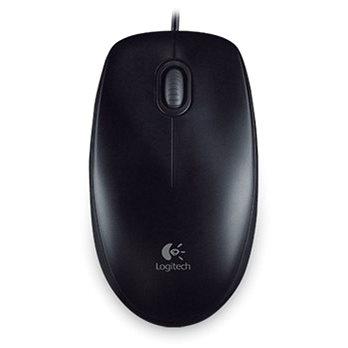 Logitech B100 Optical USB Mouse černá - Myš