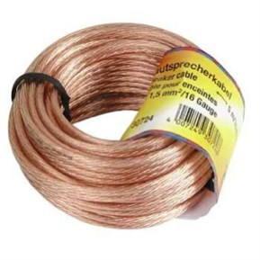 Hama reproduktorový 2x 1.5mm2, 10m - Audio kabel