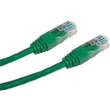 Datacom CAT6, UTP, 1m, zelený - Síťový kabel