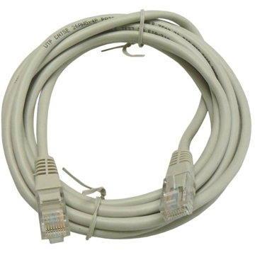 Datacom CAT5E UTP šedý 3m - Síťový kabel