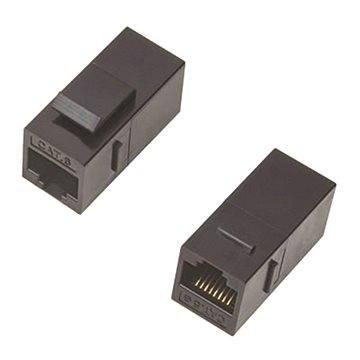 Datacom Panelová spojka UTP CAT5E  2xRJ45 (8p8c) přímá - Kabelová spojka