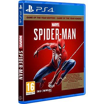 Marvels Spider-Man GOTY - PS4 - Hra na konzoli