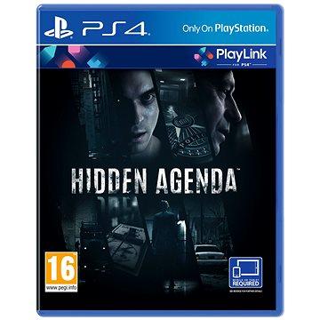 Hidden Agenda - PS4 - Hra na konzoli