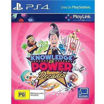 Knowledge is Power Decades - PS4 - Hra na konzoli