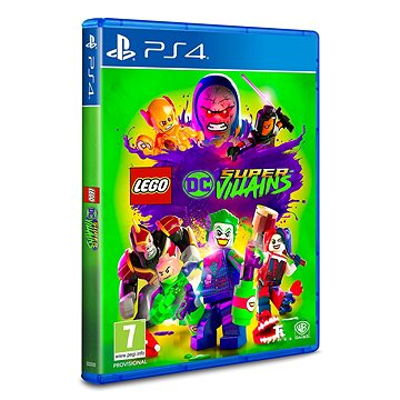 LEGO DC Super Villains - PS4 - Hra na konzoli