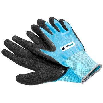 CELLFAST rukavice zahradní polyester/latex vel.8/M    - Pracovní rukavice
