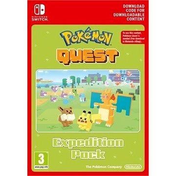 Pokémon Quest - Expedition Pack - Nintendo Switch Digital - Herní doplněk