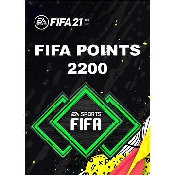 FIFA 21 - 2200 FUT POINTS - PC DIGITAL - Herní doplněk
