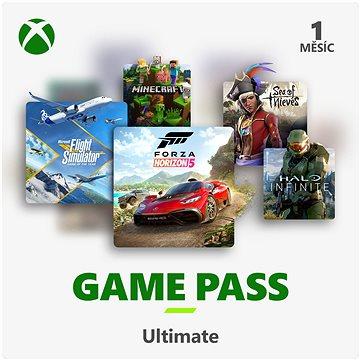 Xbox Game Pass Ultimate - 1 měsíční předplatné - Dobíjecí karta