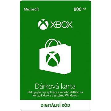 Xbox Live Dárková karta v hodnotě 800Kč - Dobíjecí karta