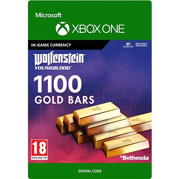 Wolfenstein: Youngblood: 1100 Gold Bars - Xbox Digital - Herní doplněk