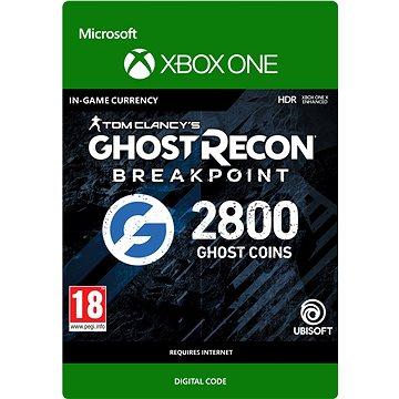 Ghost Recon Breakpoint: 2400 (+400 bonus) Ghost Coins - Xbox Digital - Herní doplněk