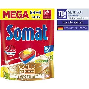 SOMAT Gold Lemon & Lime (60 ks) - Tablety do myčky