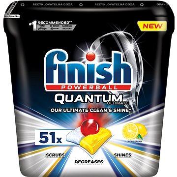 FINISH Quantum Ultimate Lemon Sparkle 51 ks - Tablety do myčky